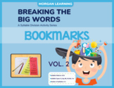 BTBW Syllable Division Bookmarks - Set 2 V/CV Pattern (All