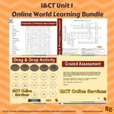 I&CT - Unit 1 Online World Learning Outcome A Level 2 Bundle (4)