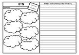 BTN Note Taking Graphic Organiser