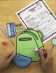 Back to School-About Me Book, Glyphs, Writing Prompts, Back to School Activities