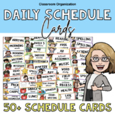 Daily Schedule Classroom Cards
