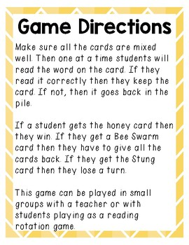 I Want Honey! (card game)
