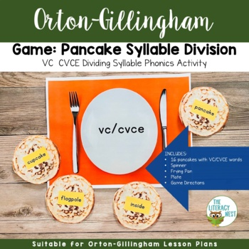 Syllable Division Game