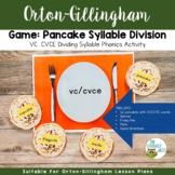 Game: Syllable Division   VC CVCE Dividing Syllables Phoni