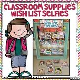 Classroom Wish List Display Brights Set 1