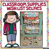 Classroom Supplies Wish List Selfies (Colorful Kiddos Set 1)