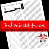 BTS Teacher Bullet Journal Dashboard & Class Roster Teacher Forms