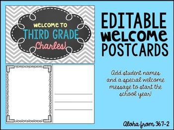 BTS Welcome Postcards