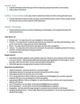 BTT2O Country Research Presentation Software Assignment (KICA)