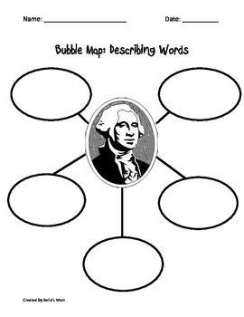 BUBBLE MAP: GEORGE WASHINGTON