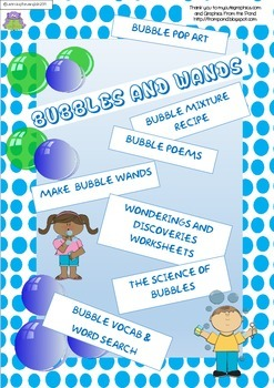 BUBBLES AND WANDS - THE SCIENCE OF BUBBLES