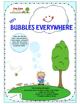 BUBBLES EVERYWHERE 123