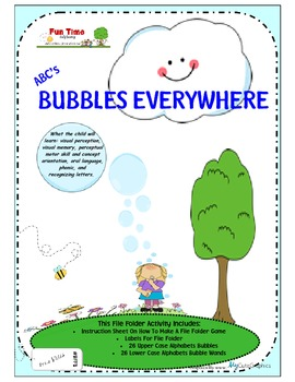 BUBBLES EVERYWHERE ABC'S