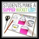 END OF THE YEAR ACTIVITY: SUMMER BUCKET LIST INTERACTIVE NOTEBOOK