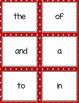BUCKLEY BINGO Set 1 Early Learning Sight Words K-2