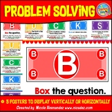 BUCKS Problem Solving Strategy Display Poster