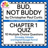 BUD, NOT BUDDY   CHAPTER 1   PRINTABLE, EDITABLE, DIGITAL