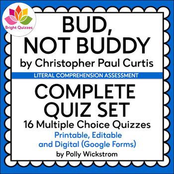 BUD, NOT BUDDY |  COMPLETE QUIZ SET (QUIZ BUNDLE)