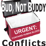 BUD, NOT BUDDY Conflict Graphic Analyzer - 6 Types of Conflict