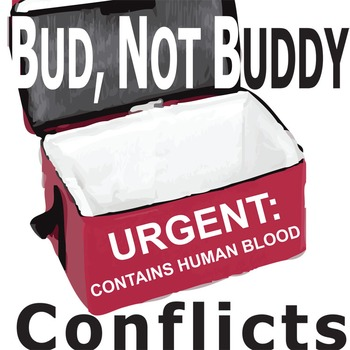 BUD, NOT BUDDY Conflict Graphic Organizer - 6 Types of Conflict