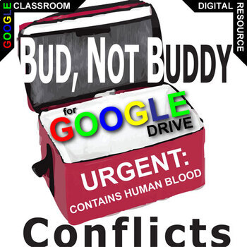 BUD, NOT BUDDY Conflict Graphic Organizer (Created for Digital)