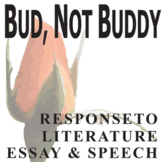 BUD, NOT BUDDY Essay Prompts & Grading Rubrics