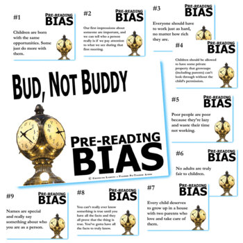 BUD, NOT BUDDY PreReading Bias
