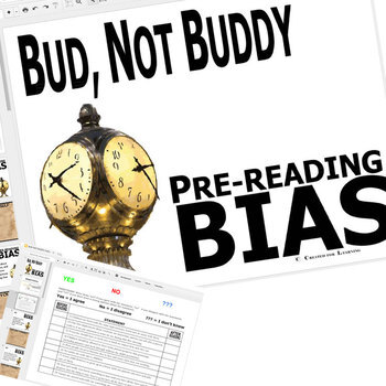 BUD, NOT BUDDY PreReading Bias Activity (Created for Digital)