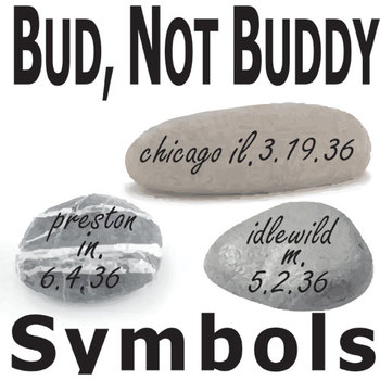 bud not buddy symbols analyzer by created for learning tpt bud not buddy symbols analyzer