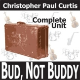 BUD, NOT BUDDY Unit Plan - Novel Study Bundle (Curtis) - Literature Guide