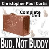BUD, NOT BUDDY Unit Plan - Novel Study Bundle (Curtis) - Literature Guide