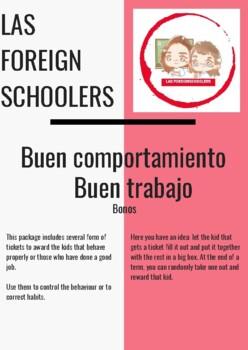 BUEN COMPORTAMIENTO/BUEN TRABAJO (BONOS)