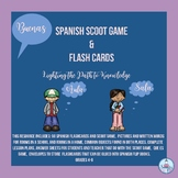 BUENAS: Spanish SCOOT Game & Flash Cards (4-7)