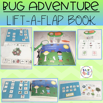 BUG ADVENTURE, A LIFT-A-FLAP BOOK (SPEECH & LANGUAGE THERAPY)