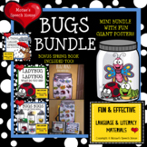 BUG BUNDLE with GIANT POSTER SPRING Pre-K Speech Therapy