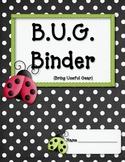 BUG Binder Starter Kit