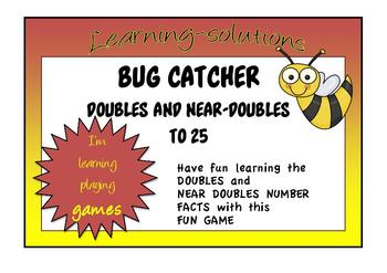 NUMBER FACTS - BUG CATCHER JNR GAME - Doubles and Near Dou