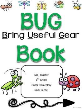 BUG Communication Folder