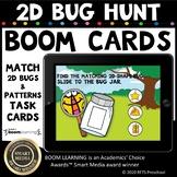2D Bug Hunt (Drag and Drop) DIGITAL BOOM CARDS