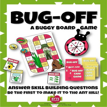 BUG OFF BOARD GAME & TASK CARDS