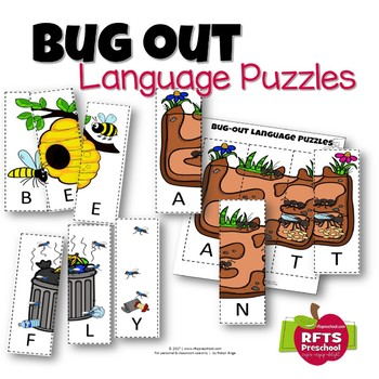BUG OUT LANGUAGE PUZZLES