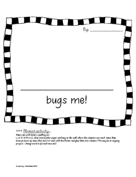 BUG SCIENCE COMBINED CLASS K-1