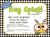 BUG SPLAT Sight Word Practice - First Grade