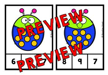 BUG THEME COUNTING AND CARDINALITY (KINDERGARTEN MATH ACTIVITIES)