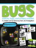 BUGS!  A complete unit for Preschool, PreK, and Kindergarten
