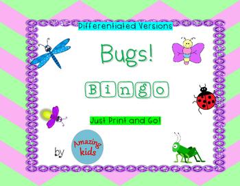 BUGS! Bingo