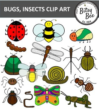 BUGS, INSECTS CLIP ART