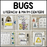 BUGS Literacy & Math Centers for Spring (Preschool, PreK, Kindergarten)
