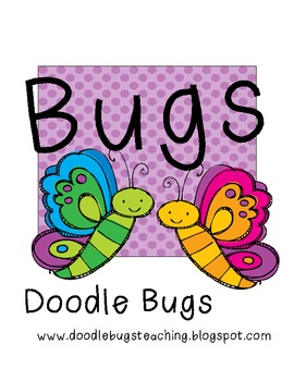 BUGS! Math and Language Centers / Pocket Chart Activities