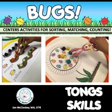 Tongs Skills Activities for Preschool and Kindergarten